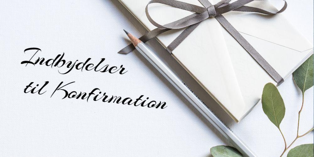 indbydelser til konfirmation