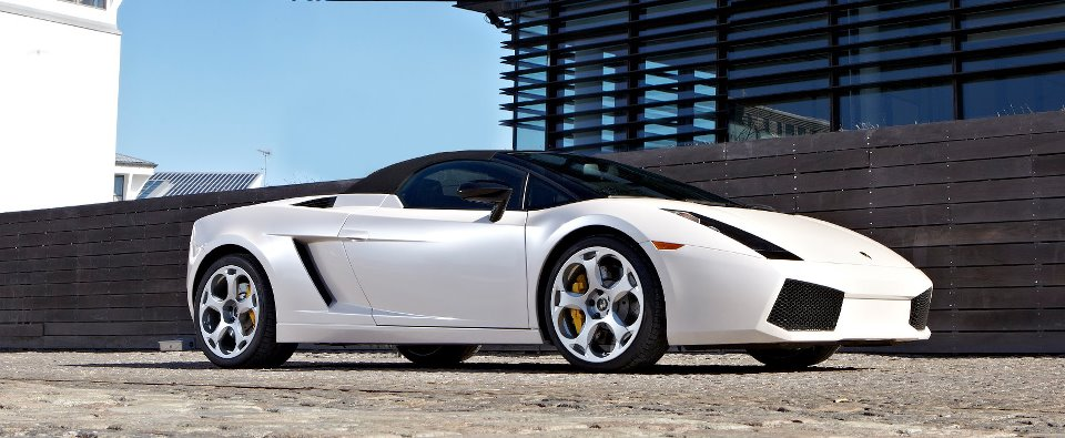 Hvad koster konfirmationskørsel i en Lamborghini Gallardo?