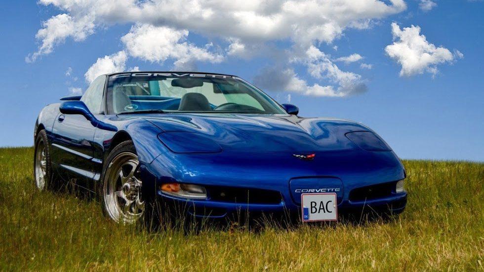Konfirmationskørsel Chevrolet Corvette pris