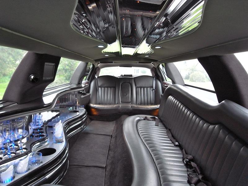 konfirmationskørsel i limo